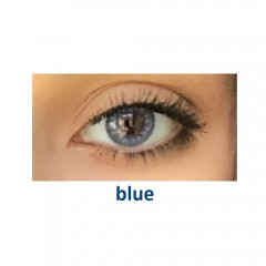 Eye Free Colors EDG, цвет: blue (2 линзы)