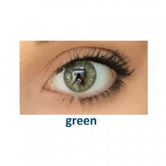 Eye Free Colors EDG, цвет: green (2 линзы)