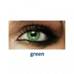 Fresh Look Colors green (2 линзы)