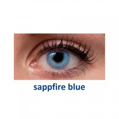 Fresh Look Colors sappfire blue (2 линзы)